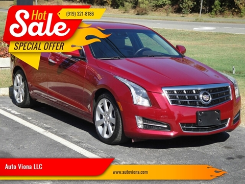 2013 Cadillac ATS 3.6L Performance for sale at Auto Viona LLC in Durham NC