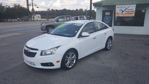 2013 Chevrolet Cruze for sale in West Columbia SC