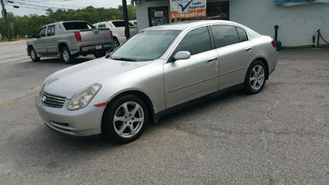 2004 Infiniti G35 for sale in West Columbia SC