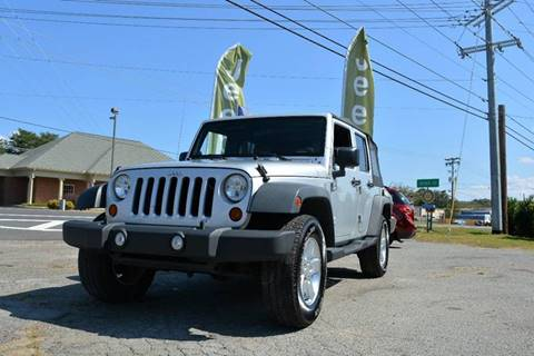 2010 Jeep Wrangler Unlimited for sale in Seymour, TN