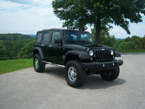 2015 Jeep Wrangler Unlimited for sale in Moundsville, WV