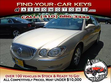 2008 Buick LaCrosse for sale at Aero Motors INC in Essex MD