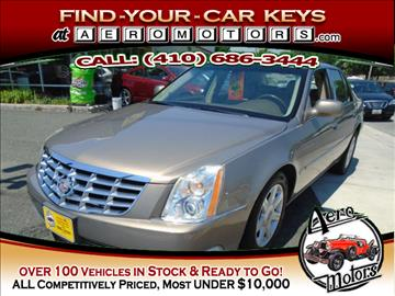 2006 Cadillac DTS for sale at Aero Motors INC in Essex MD