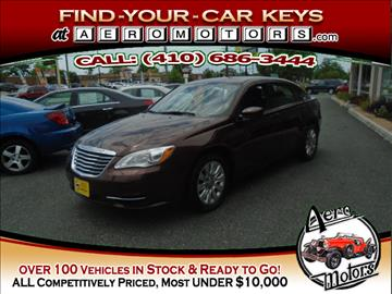2013 Chrysler 200 for sale at Aero Motors INC in Essex MD