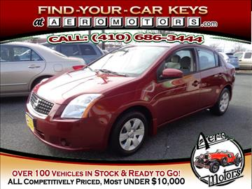 2008 Nissan Sentra for sale at Aero Motors INC in Essex MD