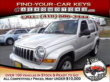 2006 Jeep Liberty for sale at Aero Motors INC in Essex MD