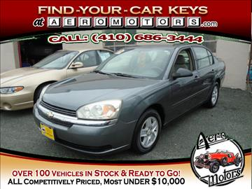 2005 Chevrolet Malibu for sale in Essex, MD