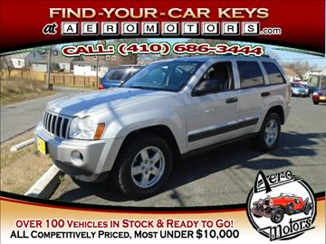 2006 Jeep Grand Cherokee for sale at Aero Motors INC in Essex MD