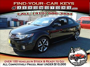 2010 Kia Forte Koup for sale at Aero Motors INC in Essex MD