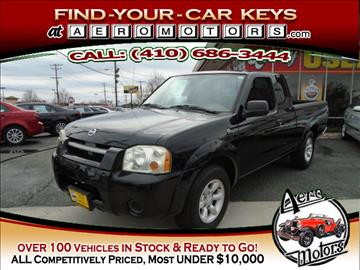 2004 Nissan Frontier for sale at Aero Motors INC in Essex MD