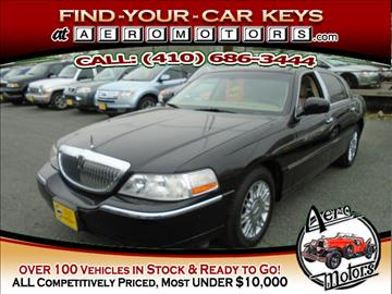 2006 Lincoln Town Car for sale at Aero Motors INC in Essex MD