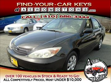 2004 Toyota Camry for sale at Aero Motors INC in Essex MD