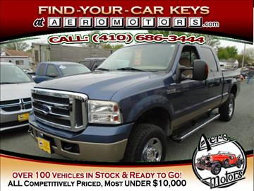 2006 Ford F-250 Super Duty for sale at Aero Motors INC in Essex MD