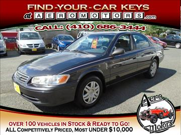 2000 Toyota Camry for sale at Aero Motors INC in Essex MD