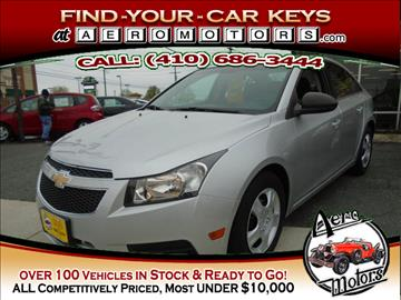 2011 Chevrolet Cruze for sale at Aero Motors INC in Essex MD