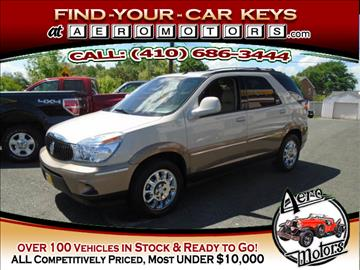2006 Buick Rendezvous for sale at Aero Motors INC in Essex MD