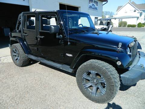 2009 Jeep Wrangler Unlimited for sale in Flanagan, IL