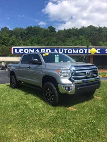 2016 Toyota Tundra for sale at Leonard Auto Sales in Cedar Bluff VA