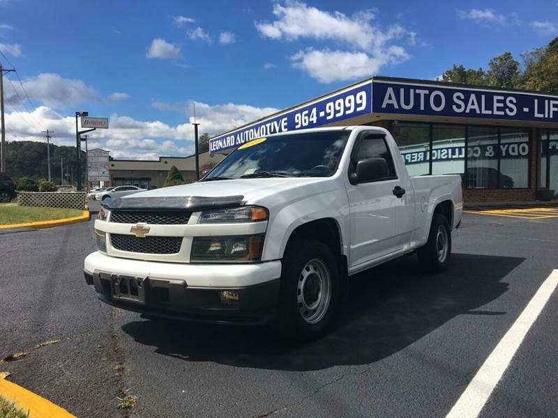 2011 Chevrolet Colorado for sale at Leonard Auto Sales in Cedar Bluff VA