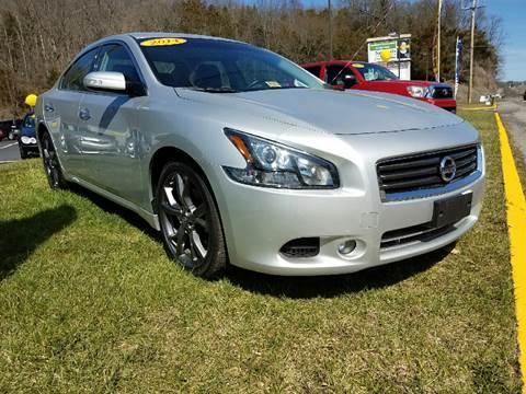 2014 Nissan Maxima for sale at Leonard Auto Sales in Cedar Bluff VA