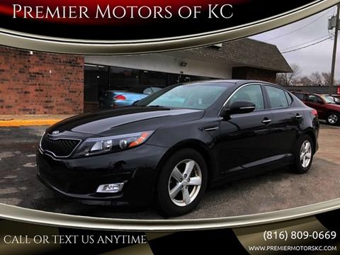 2015 Kia Optima for sale at Premier Motors of KC in Kansas City MO