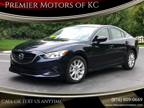 2016 Mazda MAZDA6 for sale at Premier Motors of KC in Kansas City MO