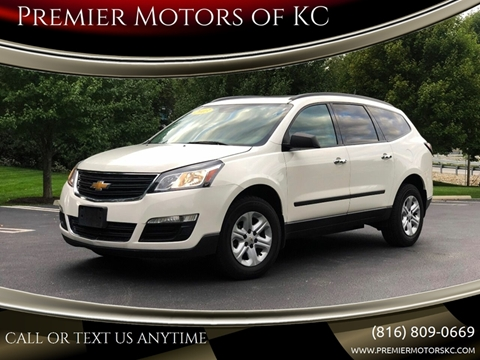 2013 Chevrolet Traverse for sale at Premier Motors of KC in Kansas City MO