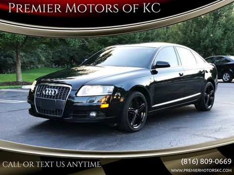 2008 Audi A6 for sale at Premier Motors of KC in Kansas City MO