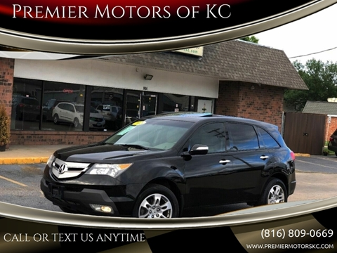 2008 Acura MDX for sale at Premier Motors of KC in Kansas City MO