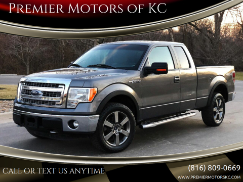 2013 Ford F-150 for sale at Premier Motors of KC in Kansas City MO