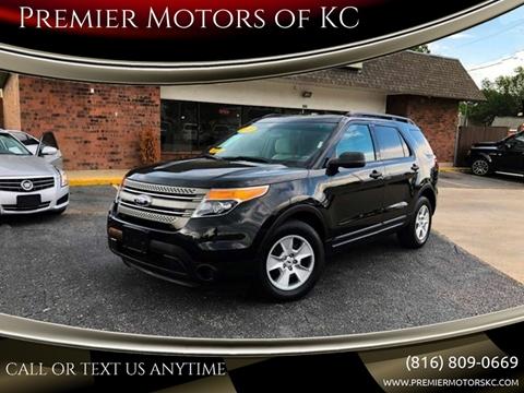 2013 Ford Explorer for sale at Premier Motors of KC in Kansas City MO