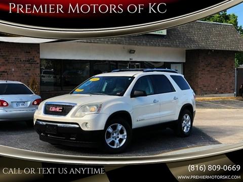 2008 GMC Acadia for sale at Premier Motors of KC in Kansas City MO