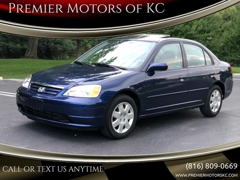 2002 Honda Civic for sale at Premier Motors of KC in Kansas City MO