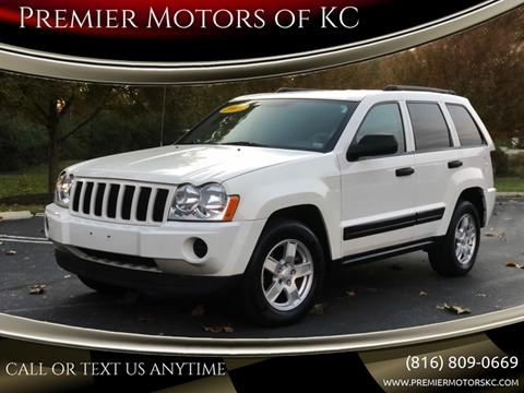 2006 Jeep Grand Cherokee for sale at Premier Motors of KC in Kansas City MO