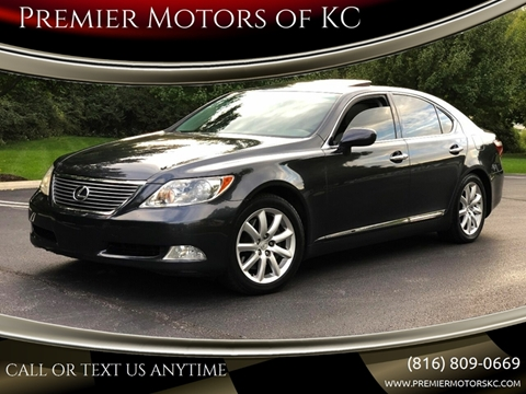 2008 Lexus LS 460 for sale at Premier Motors of KC in Kansas City MO