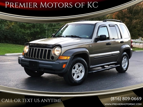2007 Jeep Liberty for sale at Premier Motors of KC in Kansas City MO