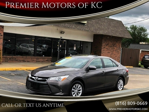 2016 Toyota Camry for sale in Kansas City, MO