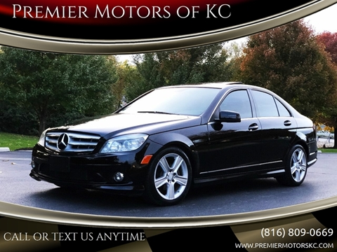 2010 Mercedes-Benz C-Class for sale at Premier Motors of KC in Kansas City MO
