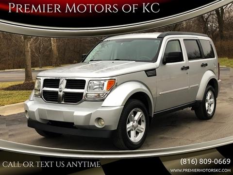 2007 Dodge Nitro for sale at Premier Motors of KC in Kansas City MO