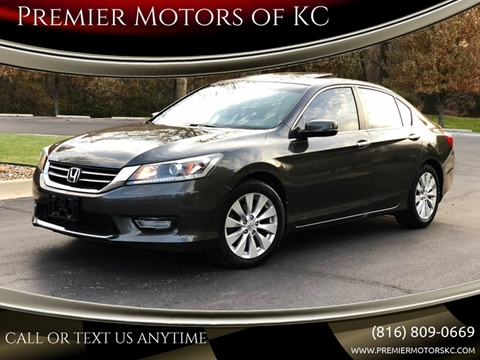 2013 Honda Accord for sale at Premier Motors of KC in Kansas City MO