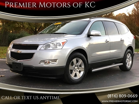 2012 Chevrolet Traverse for sale at Premier Motors of KC in Kansas City MO