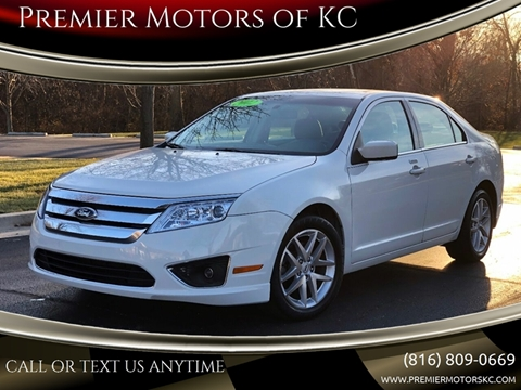 2012 Ford Fusion for sale at Premier Motors of KC in Kansas City MO