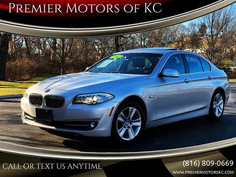 2012 BMW 5 Series for sale at Premier Motors of KC in Kansas City MO