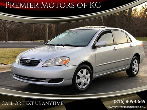 2006 Toyota Corolla for sale at Premier Motors of KC in Kansas City MO