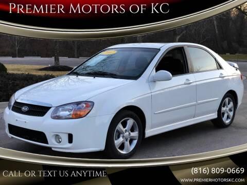 2007 Kia Spectra for sale at Premier Motors of KC in Kansas City MO