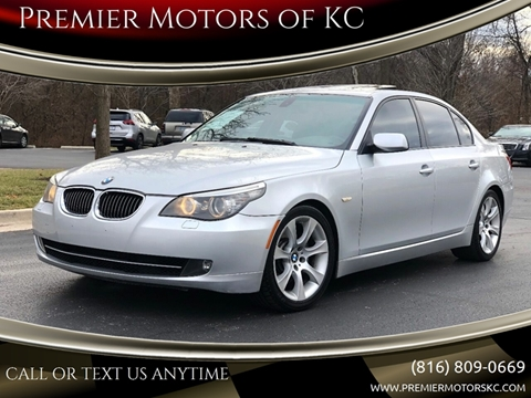 2008 BMW 5 Series for sale at Premier Motors of KC in Kansas City MO
