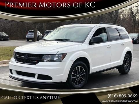 2017 Dodge Journey for sale at Premier Motors of KC in Kansas City MO