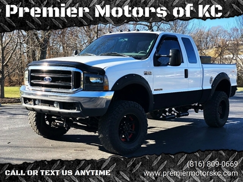 1999 Ford F-250 Super Duty for sale at Premier Motors of KC in Kansas City MO