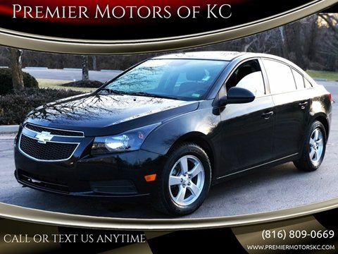 2014 Chevrolet Cruze for sale at Premier Motors of KC in Kansas City MO