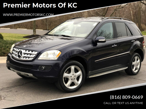 2008 Mercedes-Benz M-Class for sale at Premier Motors of KC in Kansas City MO